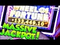 ★Lucky Guy Won $133,449!!!★WHEEL OF FORTUNE Double Diamond 3D Slot Machine - MASSIVE MEGA JACKPOT!🤑🎰