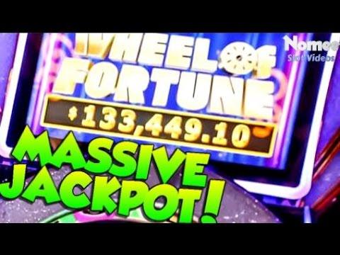 ★Lucky Guy Won $133,449!!!★WHEEL OF FORTUNE Double Diamond 3D Slot Machine - MASSIVE MEGA JACKPOT!
