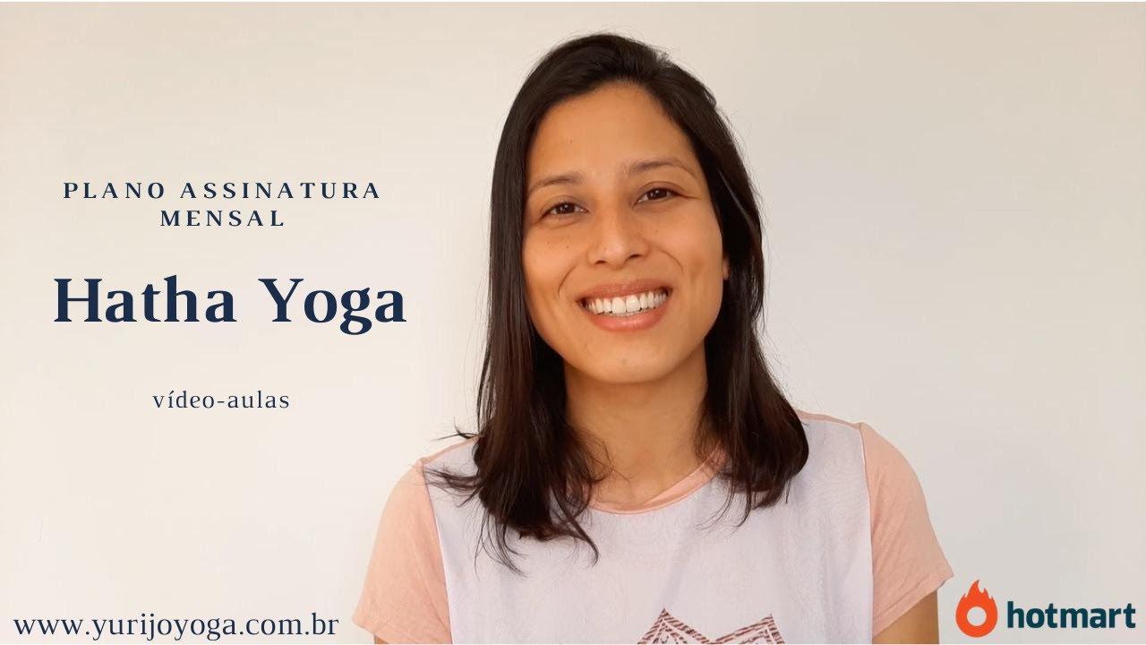 Planos de assinatura mensal Hotmart - Vídeo-aulas de Hatha Yoga - Yuri Jo Yoga