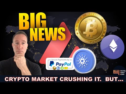 HUGE NEWS FOR CRYPTO! PRICE DROPS & WHY WE'RE SUPER EARLY.