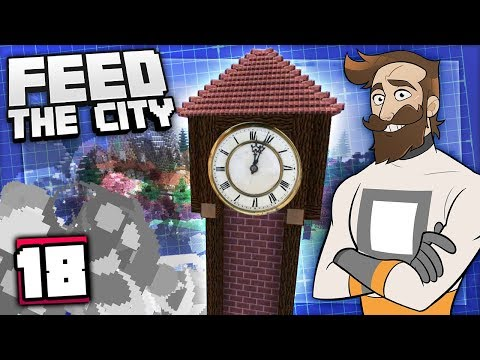 Feed The City #18 - BUILDING A TRAIN STATION!
