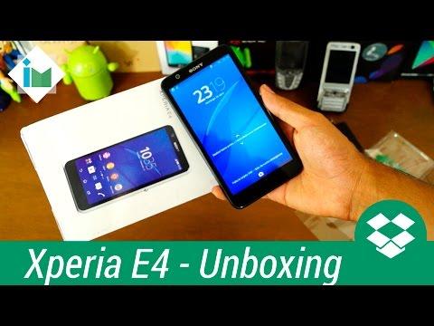 Sony Xperia E4 - Unboxing en español