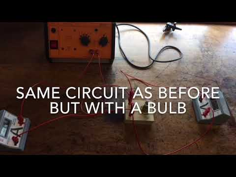 Current voltage characteristics   Required practical