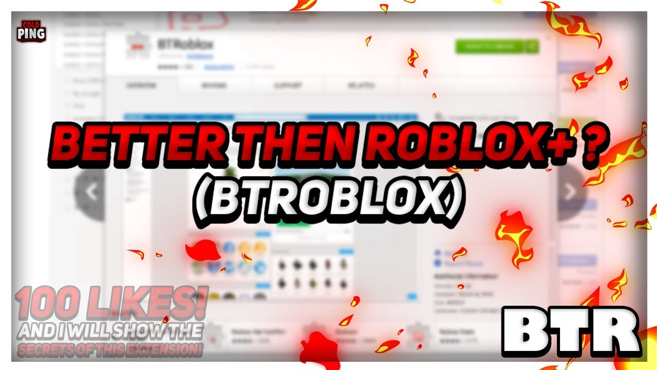 BEST EXTENSION! BETTER THEN ROBLOX+ 🔥 | COLDPING!