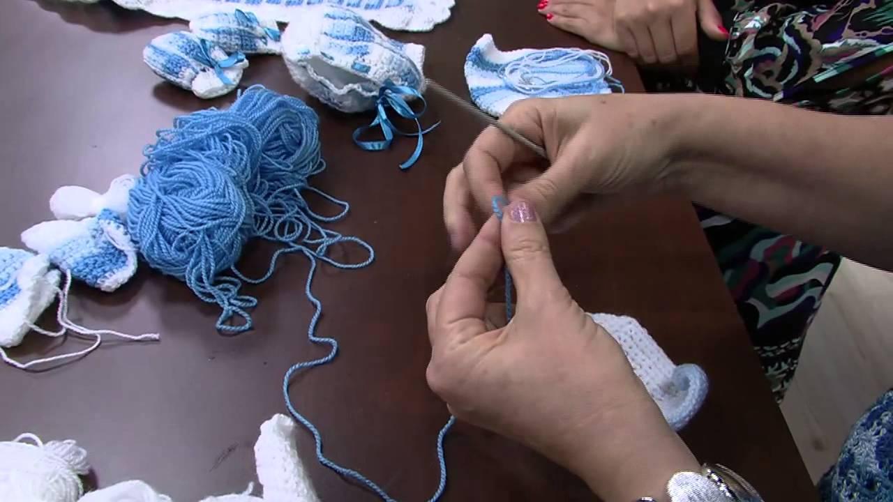 Mulher.com 04 06 2014 - Conjunto Bebe Inverno Croche por Vilma Maurer -  Parte 1 - YouTube 5249ef72c04f9