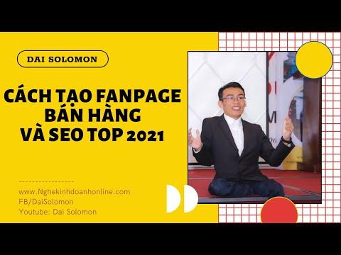 Hướng Dẫn Tạo Fanpage và SEO Top
