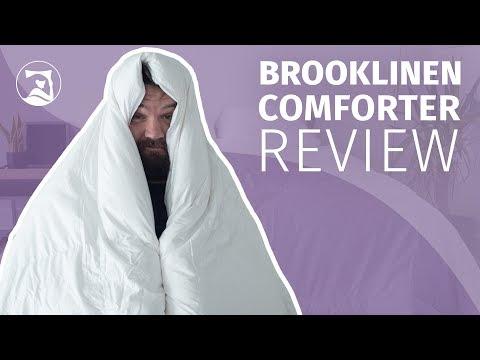 Brooklinen Down Comforter Review - True Luxury?