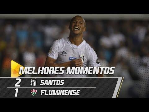 SANTOS 2 X 1 FLUMINENSE | MELHORES MOMENTOS | BRASILEIRÃO (02/05/19)