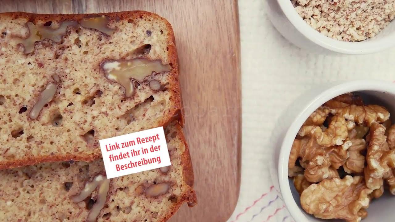 blitzschnelles low carb nuss brot rezept mit viel eiwei und wenig kalorien youtube. Black Bedroom Furniture Sets. Home Design Ideas
