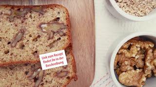 Blitzschnelles Low-Carb Nuss-Brot Rezept mit viel Eiweiß und wenig Kalorien