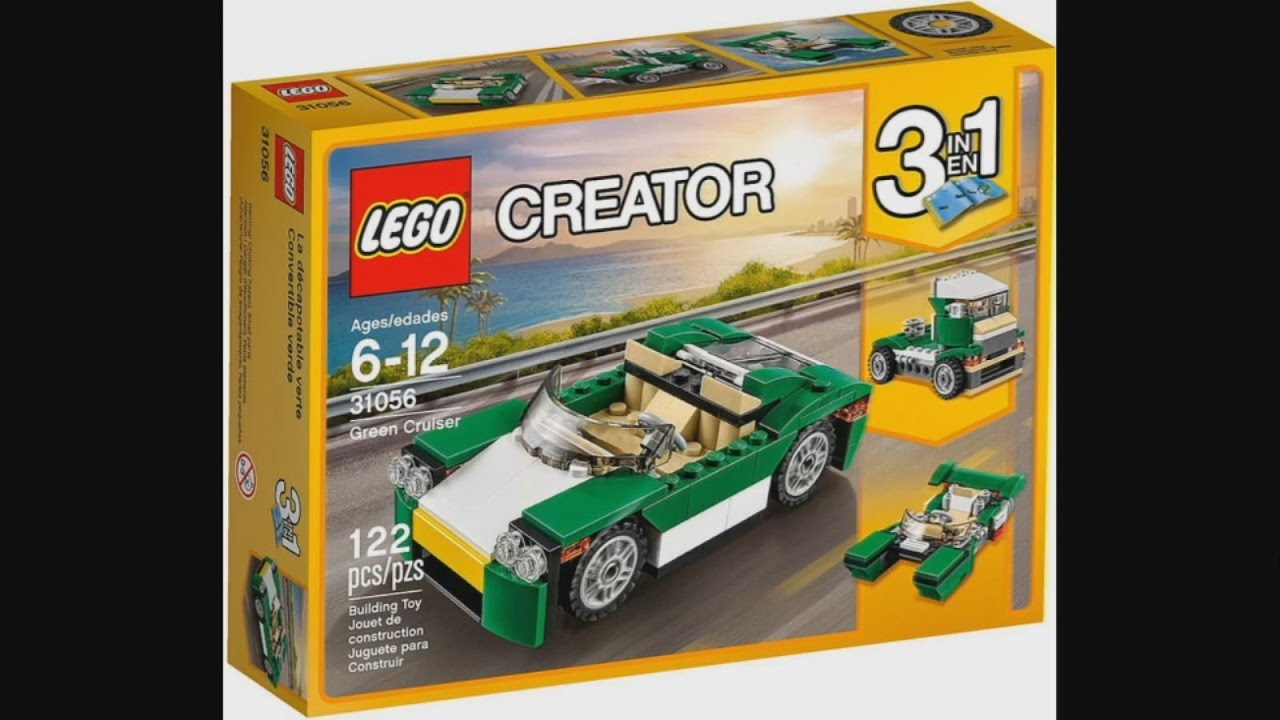 Lego Creator 31056 Green Cruiser 3 In 1 Instruction Timelapse