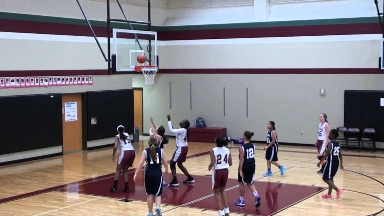 Jan. 29, 2014 - Girls Basketball - James Bowie vs First ...