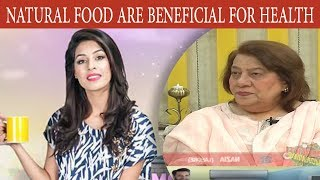 Natural Foods Are Beneficial For Health - Mehekti Morning With Sundas Khan - 27 April 2018 -  ATV