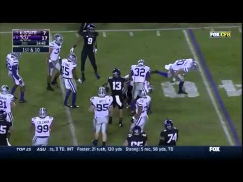 Trevone Boykin vs Kansas State (2014)