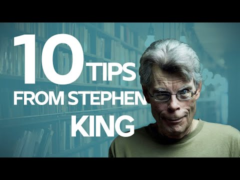 10 Writing Tips from Stephen King for Screenwriters and Writers