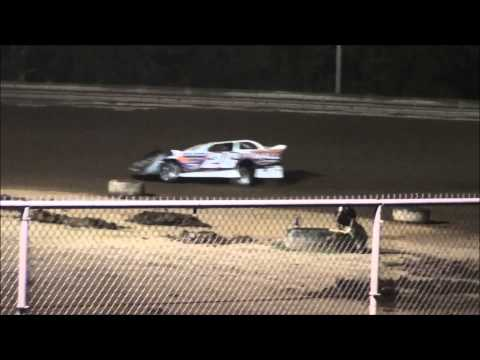 Super Late Model B-Main #1 from Ohio Valley Speedway 8/9/14.