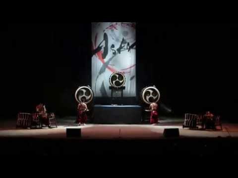 Japanese drum troupe ASKA in Ekb (3 of 3)