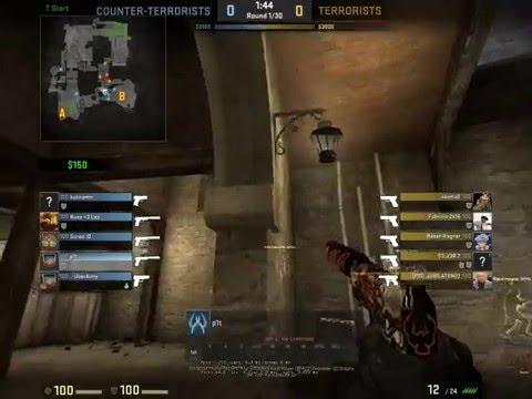 Counter-Strike GO 4xPistol kill