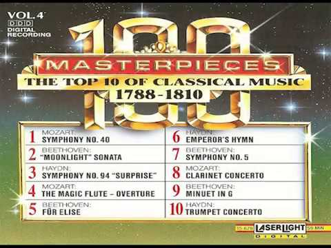 The Top 100 Masterpieces of Classical Music 【 Vol 4】10 Volume Set Digital Recording
