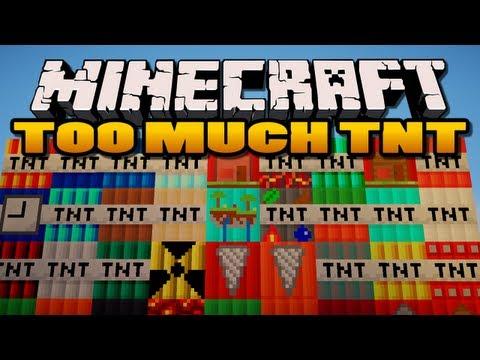 Minecraft: Too Much TNT Mod | 35 New TNTs!