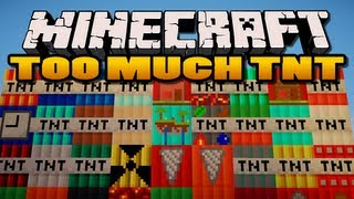 Minecraft: Too Much TNT Mod | 35 New TNTs!