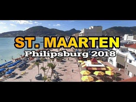 St  Maarten Great Bay Beach 2018 Post Hurricane Irma [FHD]