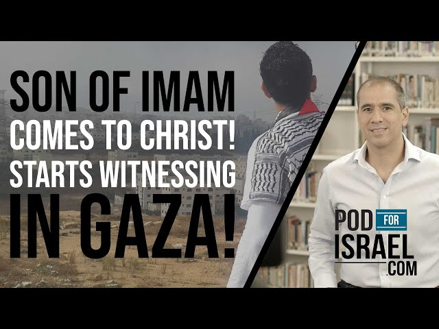 Son of Imam starts preaching the Gospel on the streets of GAZA!! - Pod for Israel - Arabic Ministry