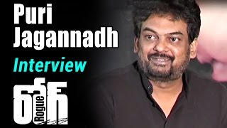 Puri Jagannadh Interview about Rogue | Rogue Telugu Movies 2017 | Ishan, Mannara Chopra