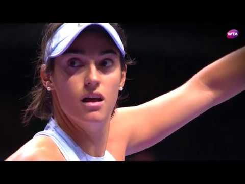 My Performance | Caroline Garcia defeats Caroline Wozniacki | 2017 WTA Finals Singapore