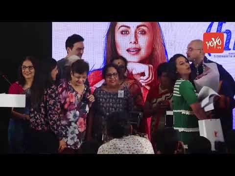 Bollywood Film News 2018 : Rani Mukerji Launches 'OYE HICHKI' Song At School