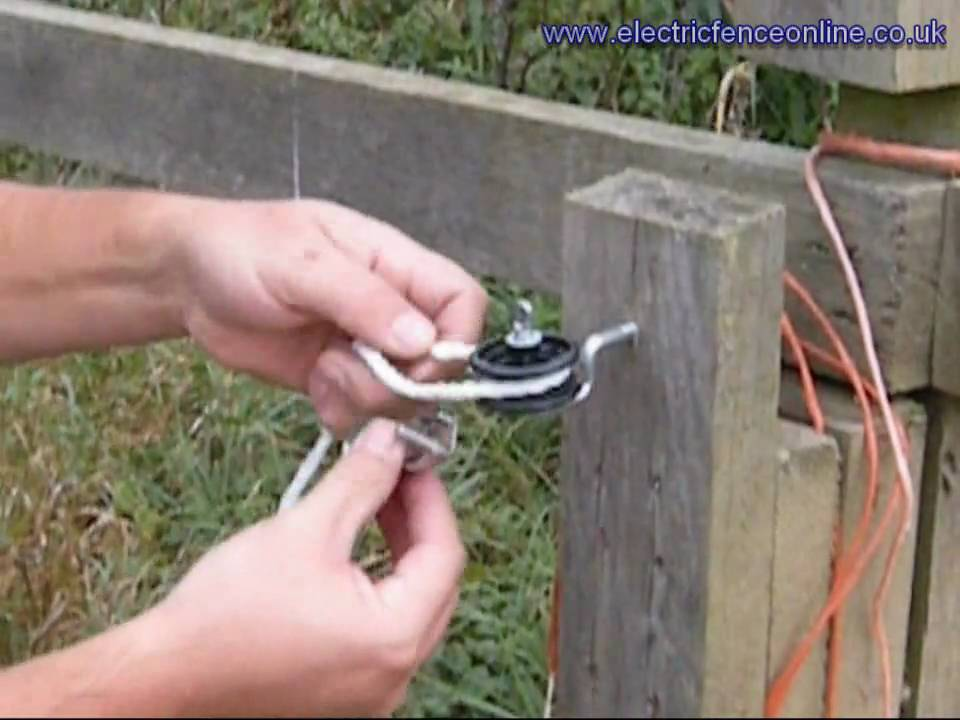 Fixing Horse Rope To Post And Rail Fence Youtube