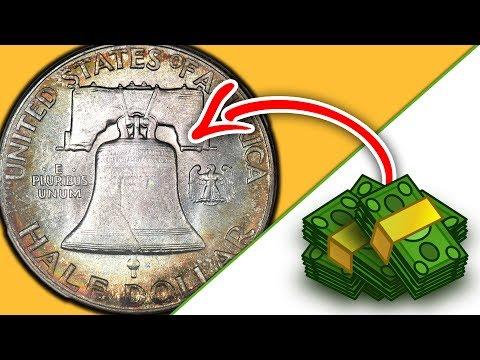 DO YOU HAVE A SILVER FRANKLIN HALF DOLLAR COIN?? 1948 HALF DOLLAR COIN VALUES