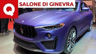 Maserati Levante Trofeo, finalmente il V8 arriva in Italia - Salone di Ginevra 2019   Quattroruote