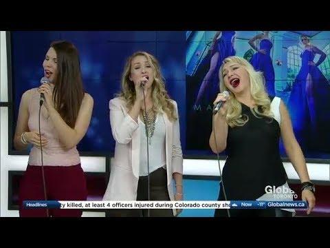 ViVA Trio on Global TV The Morning Show performing John Lennon's Imagine mp3