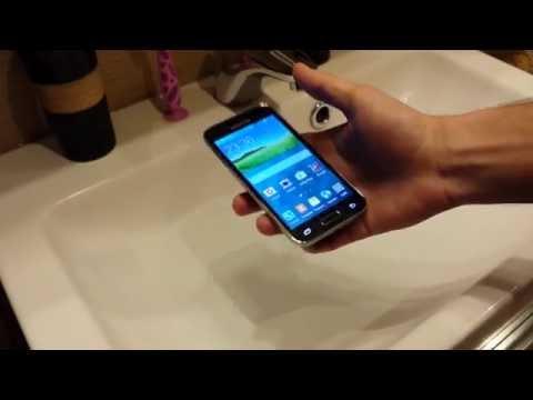 Samsung GALAXY S5 mini TEST wodoszczelności