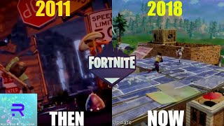 EVOLUTION OF FORTNITE SAVE THE WORLD/BATTLE ROYALE (2011-2018)