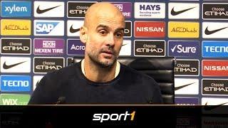Von wegen Lob: Pep Guardiola kritisiert Matchwinner Leroy Sane   SPORT1