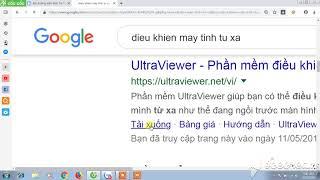 Hướng dẫn cài đặt và sử dụng phần mềm ultraview