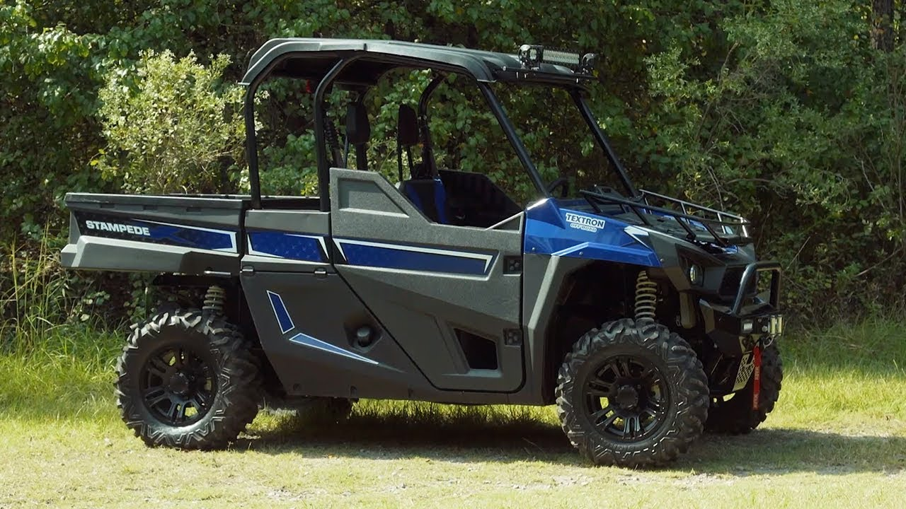Full Review 2018 Textron Off Road Stampede X Youtube