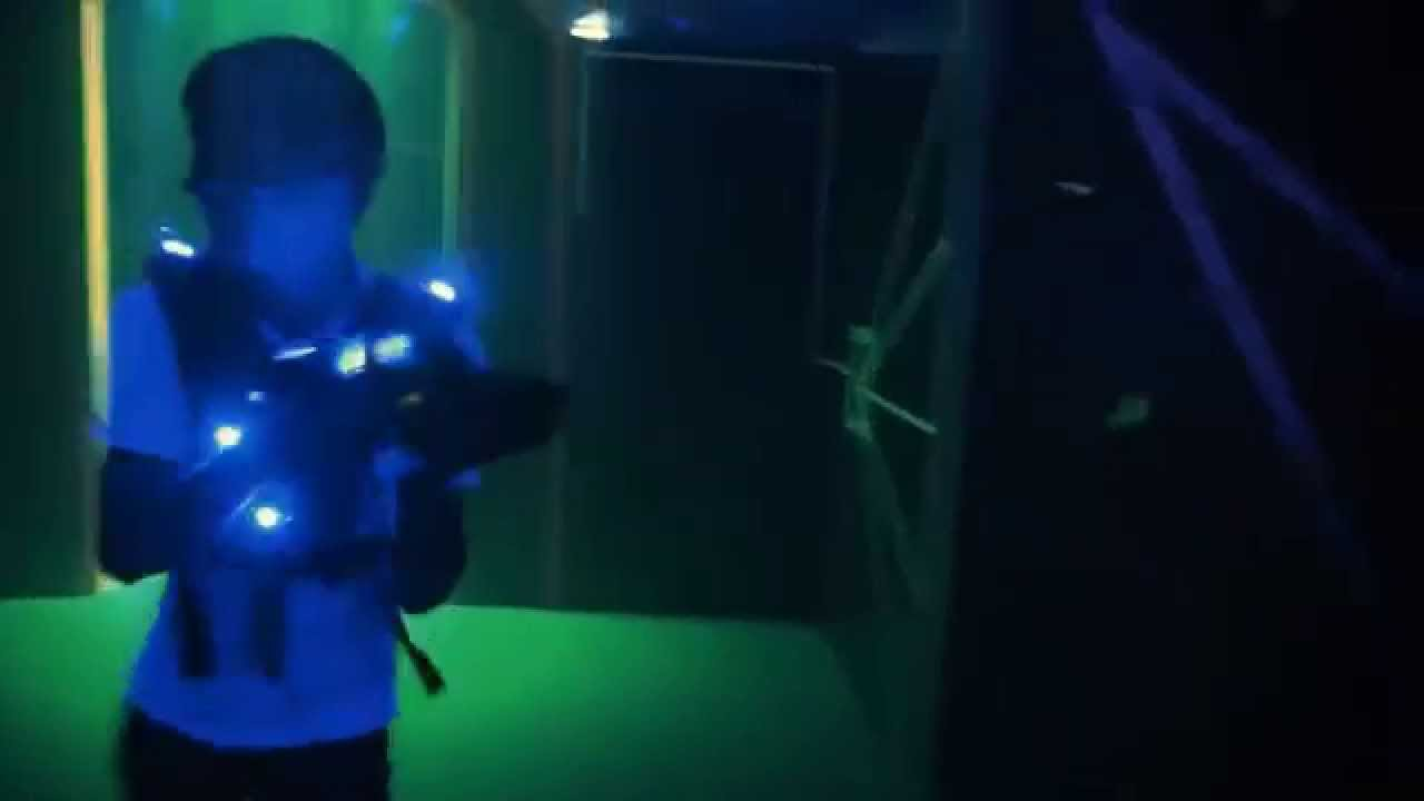 Delta Strike Laser Tag Equipment 2014 Promo Youtube