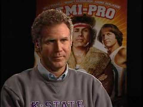 Will Ferrell Funny or Die Semi Pro Tour Interview