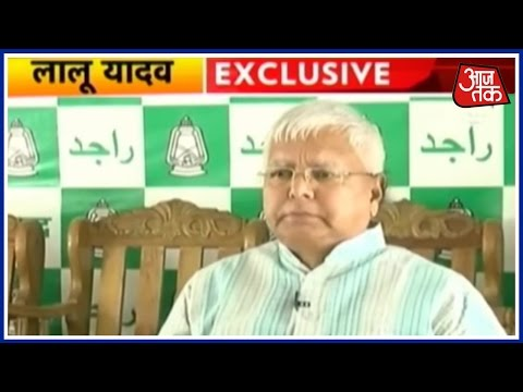 Exclusive: Lalu Prasad Yadav Takes A Dig At BJP Over Remarks On Graft Allegations