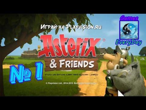 Asterix & Obelix XXL2  (Нарезка моментов из игры)