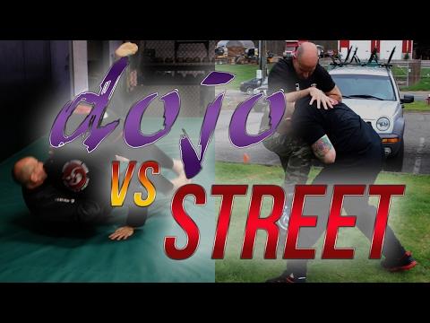 Dojo vs Street: Self Defense Jiu-Jitsu Sacrifice Throw