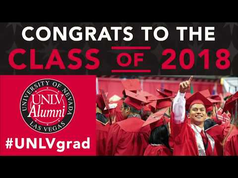 UNLV Commencement  Spring 2018 PM Ceremony