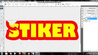 Tutorial Membuat Effect Stiker Dengan Photoshop CS3
