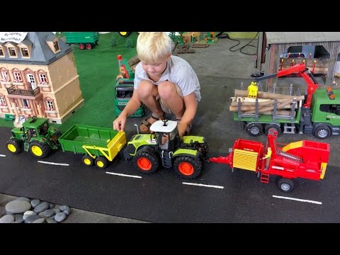 Bruder Toys Jack S Farm Tractors For Kids Class Xerion