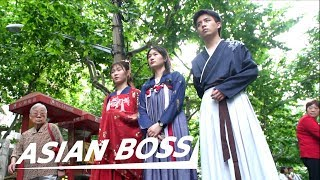 Would You Wear Traditional Chinese Clothes In Public? [Social Experiment] | ASIAN BOSS