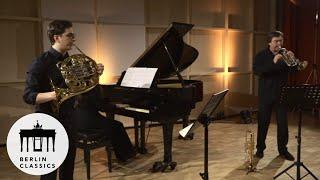 Tillmann & Matthias Höfs: Max Bruch, Acht Stücke, op. 83: II. Allegro con moto | Horn & Trompete
