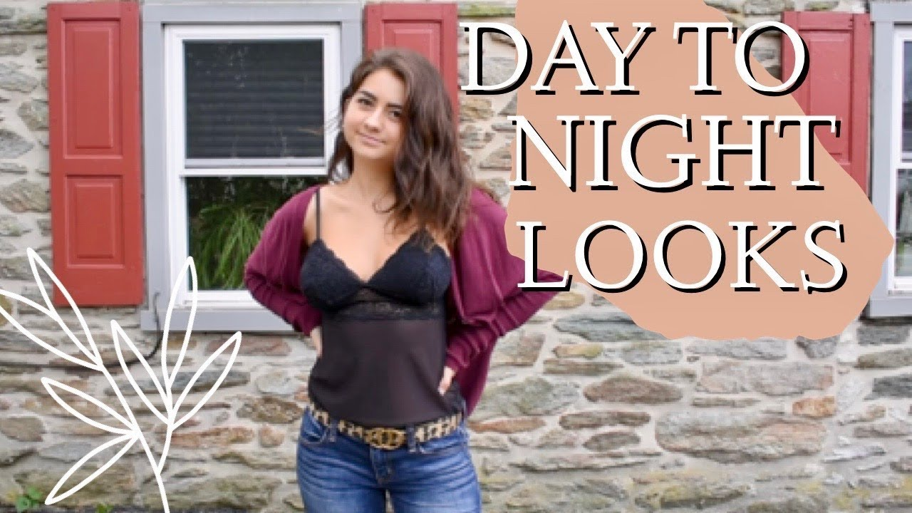 [VIDEO] - Lookbook: day to night outfit ideas! | affordable and trendy fall outfit inspiration 5